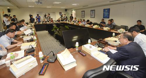 최저임금위원회 7차 전원회의가 3일 열렸다. /사진=뉴시스