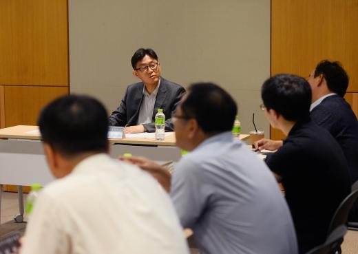 2030년 전력수요. 수요전망 워킹그룹이 지난 13일 서울 강남구 코엑스에서 회의를 열고 있다. /사진=뉴시스