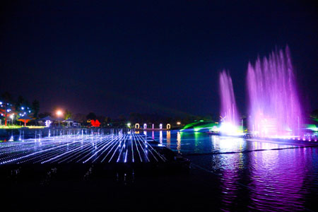 순천만국가정원, '한여름 밤의 물빛축제' 오늘(14일) 개막