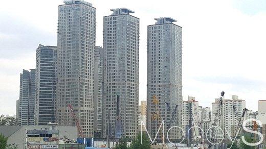 서울 용산역 주변 아파트 단지. /사진=김창성 기자