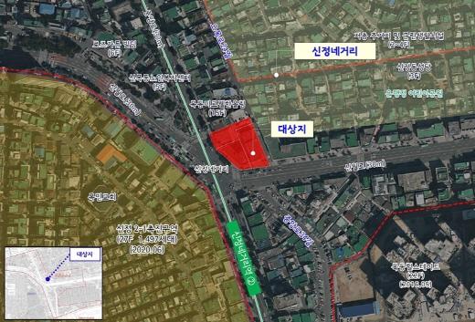 신정네거리 지구단위계획 위치도. /사진=서울시