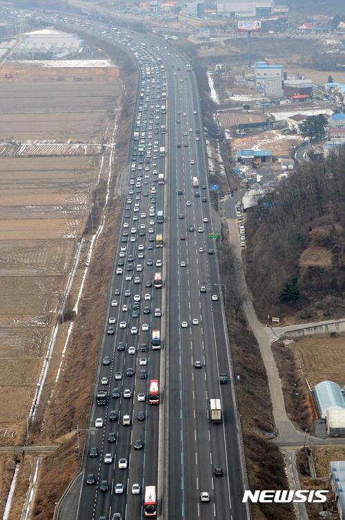 '고속도로 교통상황' '영동고속도로 버스전용차로' 사진은 기사내용과 무관. /자료사진= 뉴시스