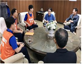 """박지원 """"금호타이어 매각, 문재인정부가 해결해야"""""""