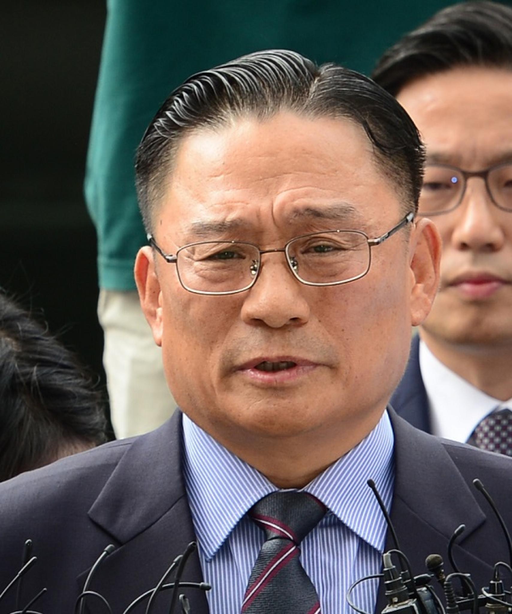 공관병 갑질 의혹을 받고 있는 박찬주 육군 제2작전사령관(대장)이 지난 8일 서울 용산구 국방부 검찰단에 피의자 신분으로 출석하고 있다. /사진=뉴시스