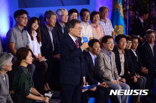 """야3당, '대국민 보고대회' 성토… """"홍보용 정치쇼"""", """"천박한 오락프로"""""""