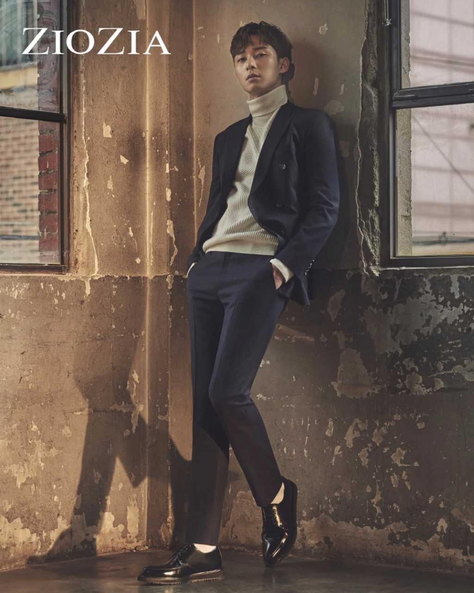 """""""가을남자의 정석""""… 박서준, 몽환적 섹시美 '여심강탈'"""