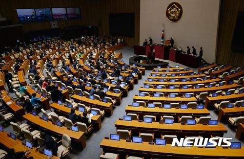 자유한국당 교섭단체 대표연설 보이콧… 국회 이틀째 파행