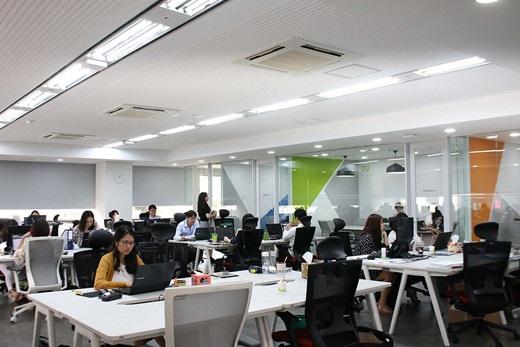 대웅제약이 8일 미래경쟁력 강화를 위해 서울 삼성동 본관 9층에 약 200평의 공간을 스마트오피스로 재탄생시켰다. /사진=대웅제약
