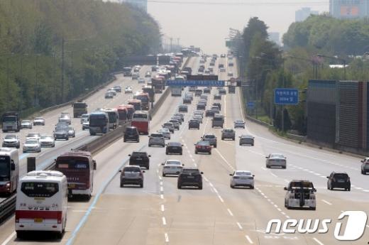 고속도로 교통상황/자료=뉴스1