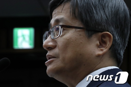"""김명수 대법원장 후보자 """"소년법 폐지는 어려워… 형량 상향은 수긍"""""""