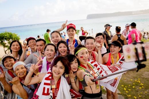 괌 마라톤 대회. /사진=PIC괌 제공