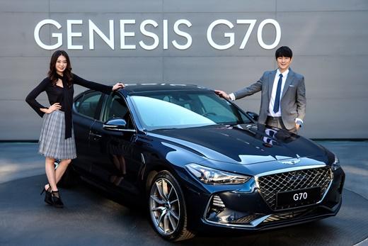 제네시스 G70.