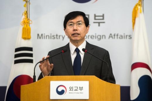 북한 대사 추방 명령. 사진은 조준혁 외교부 대변인./사진=뉴스1