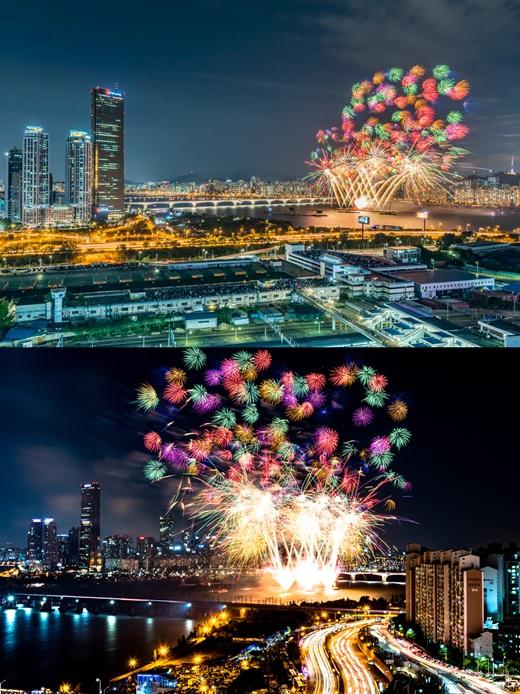 2016 서울세계불꽃축제 이미지. /사진=한화