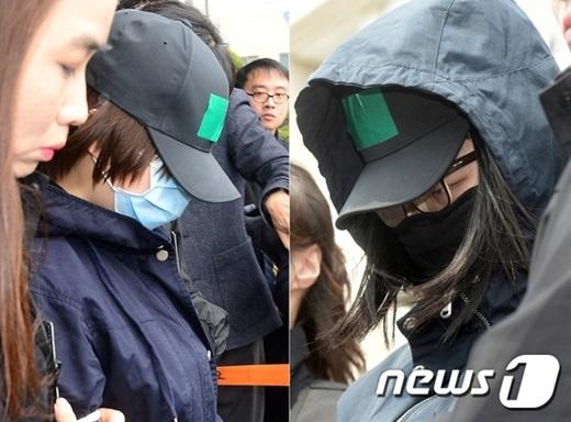 인천 초등생 살인사건 주범인 김양(왼쪽)과 공범인 박양. /사진=뉴스1 DB