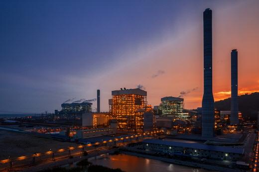 만중5 석탄화력발전소 전경. /사진=대림산업