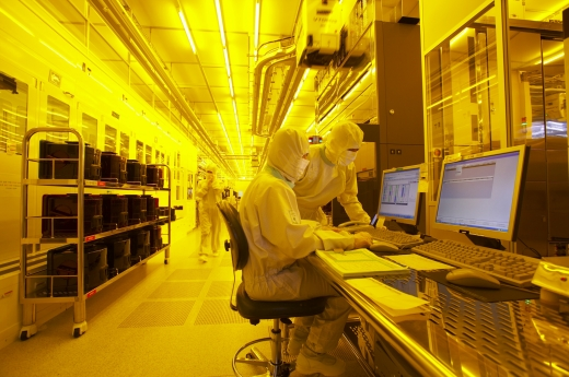 삼성전자의 반도체 생산라인. /사진=머니투데이DB