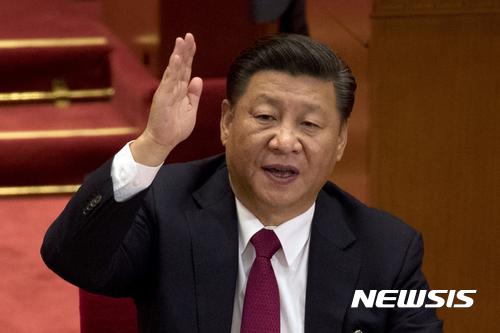 중국 공산당이 신인 상무위원 인선을 마무리해 시진핑 2기 지도부가 들어섰다. /사진=뉴시스(AP 제공)