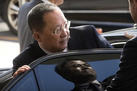 태평양상 수소탄 시험. 사진은 리용호 북한 외무상. /사진=뉴시스(AP 제공)