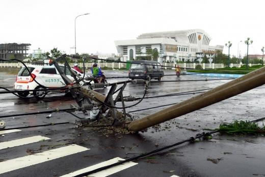 베트남에 태풍 담레이가 상륙해 40여명이 숨지거나 실종됐다. /사진=뉴시스(신화통신 제공)
