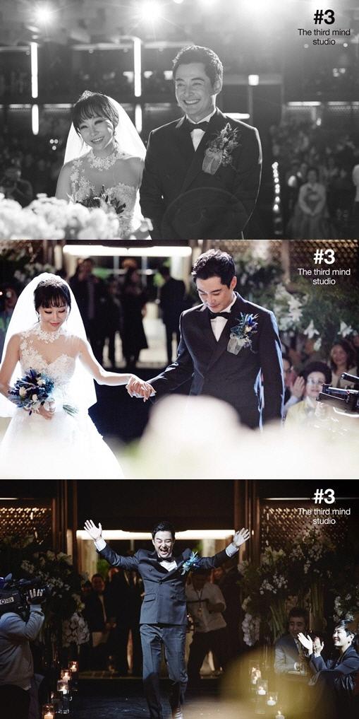 """이세창♥정하나 결혼, 13세 나이차 극복 '눈에 꿀이 뚝뚝'… """"2세는 1년뒤에"""""""