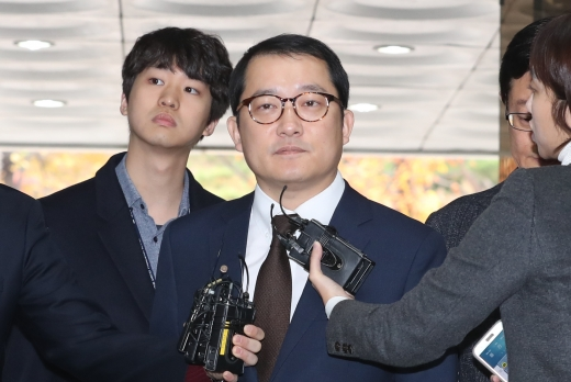 이제영 검사. 이제영 전 의정부지검 부장검사가 6일 서울 서초구 서울중앙지법 청사에 도착했다. /사진=뉴스1
