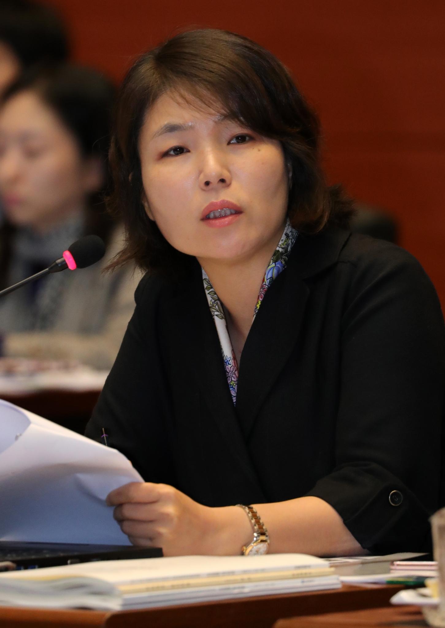 전희경 임종석. 사진은 전희경 자유한국당 의원. /사진=뉴스1
