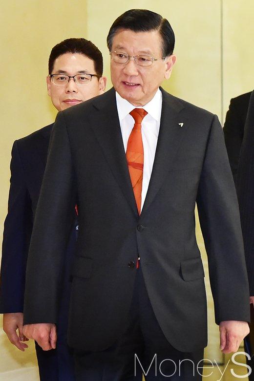[머니S포토] 박삼구 금호그룹 회장, 긴급 기자회견 개최