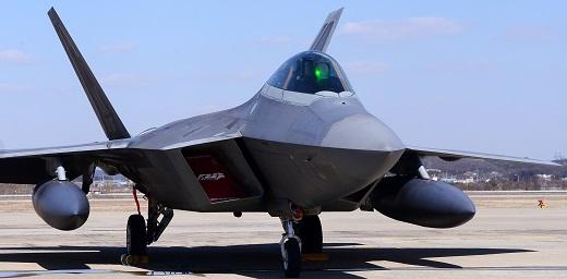 스텔스 전투기 F-22 랩터. 사진=추상철 뉴시스 기자