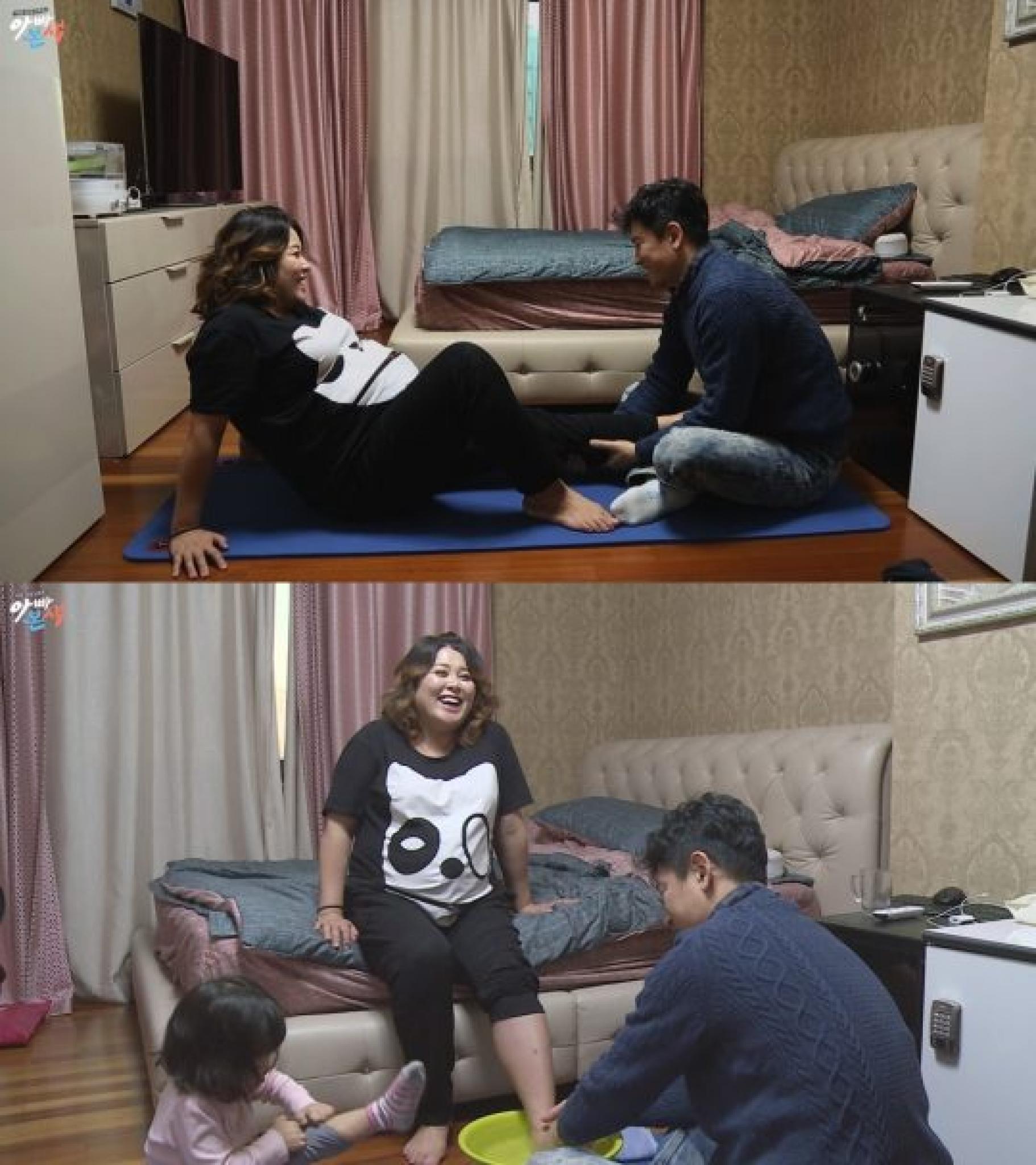 """'아빠본색' 홍지민, 남편 도성수와 꿀 떨어지는 일상… """"사는 게 데이트"""""""
