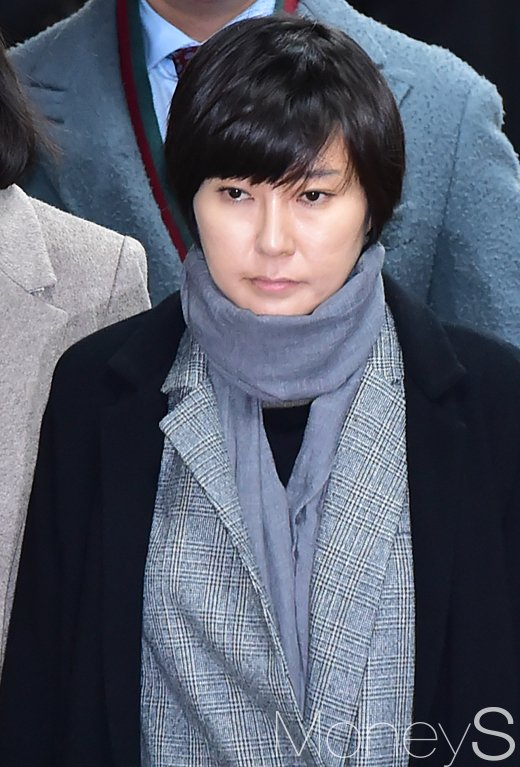 [머니S포토] '최순실 조카' 장시호, 징역 2년6개월 선고