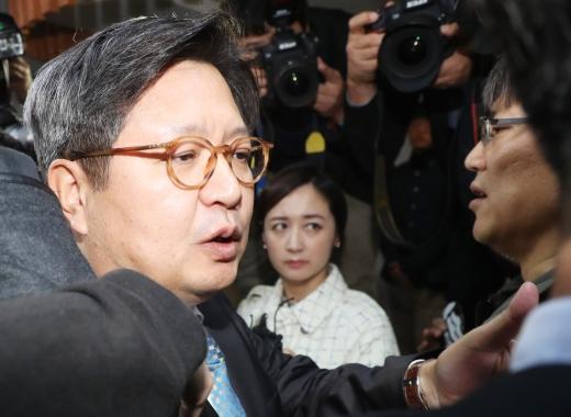 김장겸. 김장겸 전 MBC 사장이 지난달 8일 서울 영등포구 방송문화진흥회에 도착했다. /사진=뉴스1