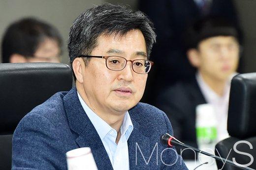 """[머니S포토] 김동연 부총리 """"혁신성장, 작더라도 가시적 성과가 중요"""""""