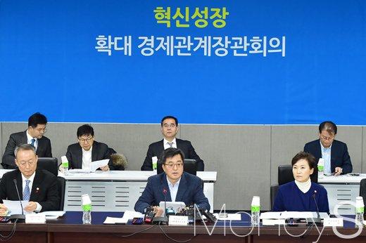 """[머니S포토] 김동연 """"민간 주도 혁신 확산, 주요 기업 간담회 추진"""""""