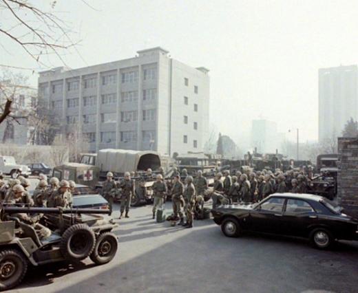 1979년 12월12일 중앙청 전경. /사진=국가기록원