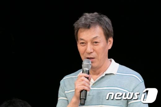 빌리엘리어트의 아버지 역을 맡은 배우 김갑수 /사진=뉴스1