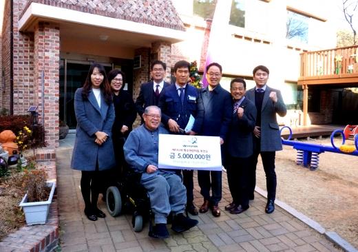 현대차 전남지역본부, 장애아동 X-마스 선물 구입비 후원