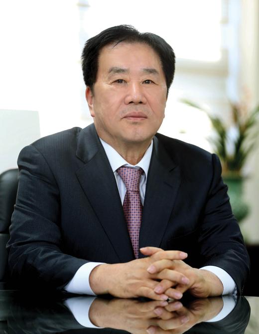 우오현 SM그룹 회장. /사진제공 =SM그룹