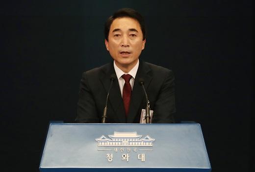 박수현 청와대 대변인. /사진=뉴스1 이광호 기자