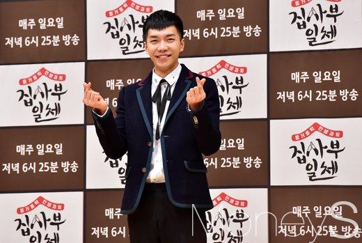 [머니S포토] 이승기 제대 후 첫 예능 복귀작 집사부일체