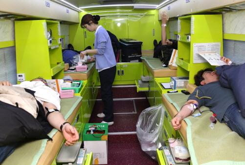보해양조, 사랑나누기 헌혈 행사