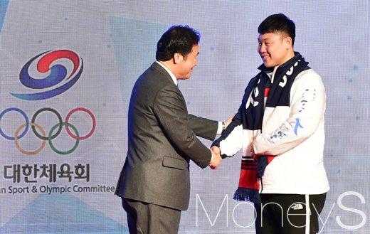 """[머니S포토] """"대한민국 동계스포츠의 비상을 바랍니다!"""""""