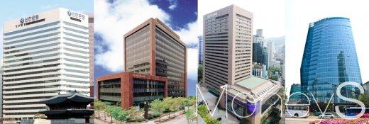 (왼쪽부터)신한금융지주, KB금융지주, 하나금융지주, NH농협금융지주/사진=각 은행
