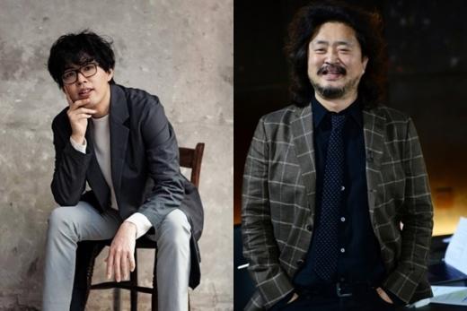 손아람 작가(왼쪽)와 방송인 김어준. /사진=손 작가 페이스북‧SBS 제공