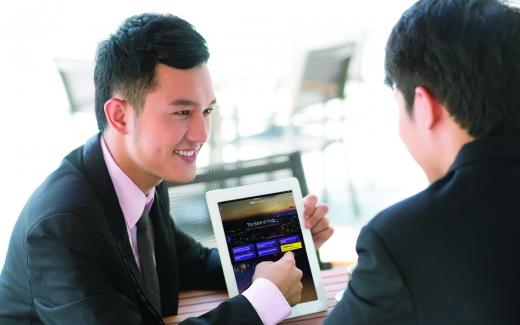 신한베트남은행 '디지털브랜치'/사진=신한은행