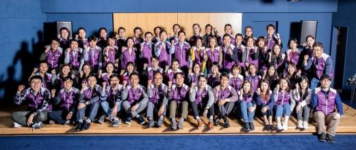 라이나생명, 임직원 120여명 참여한 '건강한봉사단' 2기 발대식