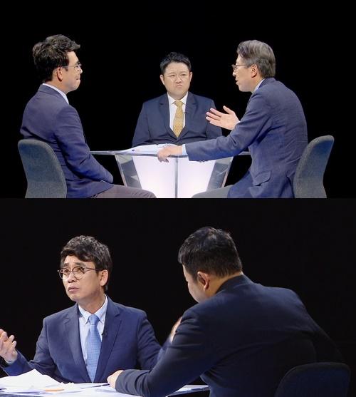 썰전 유시민. 박근혜 재판./사진=JTBC 제공