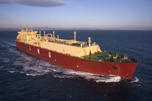 삼성중공업이 건조한 LNG선. /사진=삼성중공업 제공