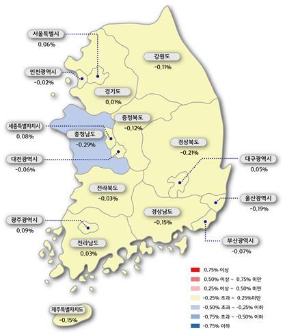 광주·전남, 아파트 매매·전셋값 상승률 전국 최고