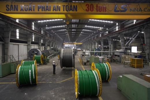 LS전선아시아는 베트남 자회사인 LS-VINA 가 싱가포르 전력청에 22kV 케이블을 오는 6월부터 2년간 독점 공급한다. / 사진=LS전선